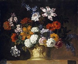 Peter Casteels III - Tulips, Snowballs and Other Flowers