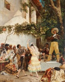 Georges Victor Clarin - The Spanish Dancers