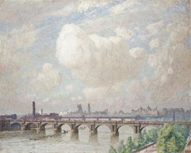 Emile Claus - Waterloo Bridge