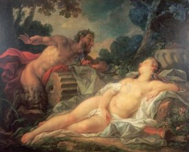 Noel Nicolas Coypel - Jupiter and Antiope