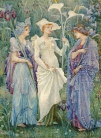 Walter Crane - Ensigns of Spring