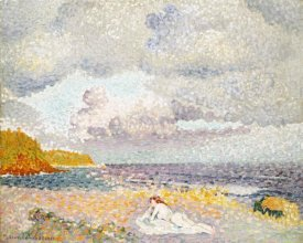 Henri Edmond Cross - Before The Thunderstorm (The Bather)