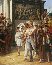 Thomas Davidson - Caratacus Being Paraded By The Emperor Claudius