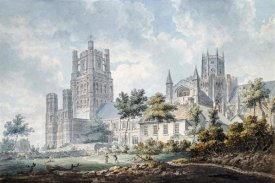 Edward Dayes - Ely Cathedral From The South-East
