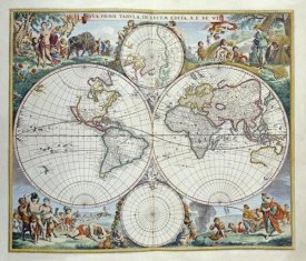 Frederick De Wit - Map of The World