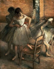 Edgar Degas - Dancers
