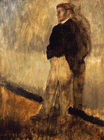 Edgar Degas - Portrait of a Man