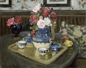 Adrian Demout - Roses On a Table