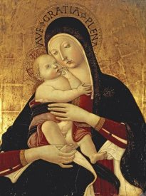 Benvenuto Di Giovanni - The Madonna and Child