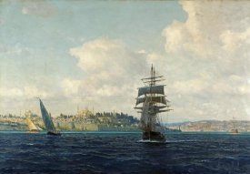 Michael Zeno Diemer - A View of Constantinople