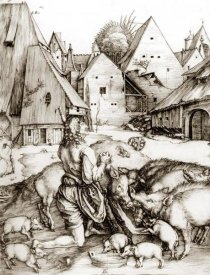 Albrecht Durer - The Prodigal Son