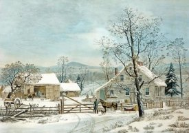 GH Durie - New England Winter Scene