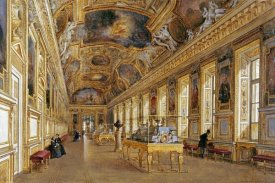 Victor Duval - The Interior of The Louvre