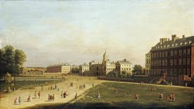 English School - A View of The New Horse Guards