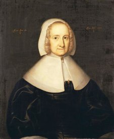 English School - Portrait of Lady Elisabeth Cromwell