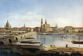 Karl Gottfried Traugott Faber - A View of Dresden