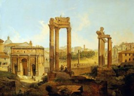 Jean Victor Louis Faure - The Forum, Rome