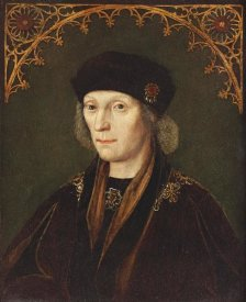 Flemish School - Portrait of King Henry VII