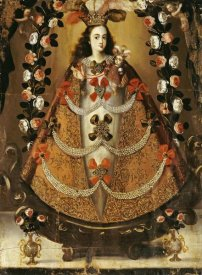 Leonardo Flores - The Virgin of Pomata