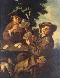 Cipper Giacomo Francesco - Two Peasant Boys Playing Cards