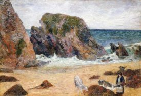 Paul Gauguin - Cows On The Seashore