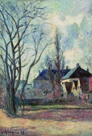 Paul Gauguin - Winter Landscape at Copenhagen