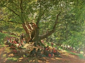 Edmund Warren George - Robin Hood and His Merry Men In Sherwood Forest