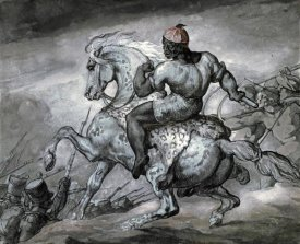 Theodore Gericault - A Scene From The Colonial War