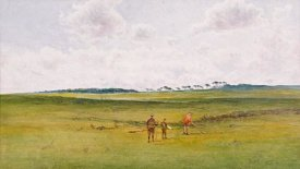 James Forbes Mackintosh Gow - On The Links, St. Andrews