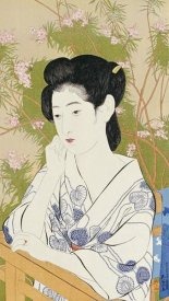 Hashiguchi Goyo - A Bust Portrait of a Young Woman