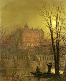 John Atkinson Grimshaw - Under The Moonbeams