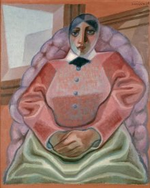Juan Gris - Woman In An Armchair
