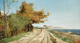 Paul Guigou - Road On The Edge of The Mediterranean, Near Marseille