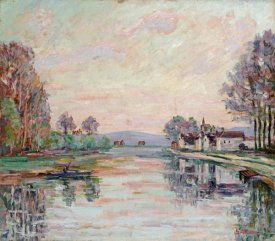 Armand Guillaumin - The Seine at Samois