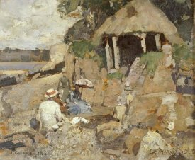 Sir James Guthrie - The Summer House