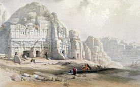 Louis Haghe - Petra, March 8th, 1839