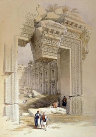 Louis Hague - The Doorway of The Temple of Bacchus