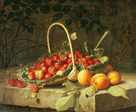 William Hammer - A Basket of Strawberries