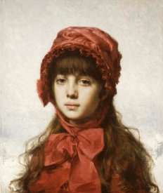 Alexei Alexeiewitsch Harlamoff - The Red Bonnet