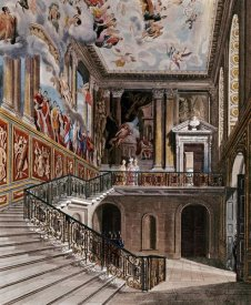 D. Havell - Grand Staircase, Hampton Court