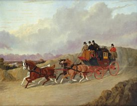 John Frederick Herring - The Edinburgh To London Royal Mail Coach