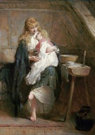 George Elgar Hicks - The Orphans