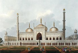 J. Hill - Mosque at Lucknow