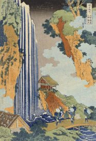 Hokusai - Ono Waterfall, The Kiso Highway