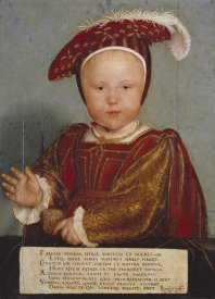 Hans Holbein - Portrait of Edward, Prince of Wales