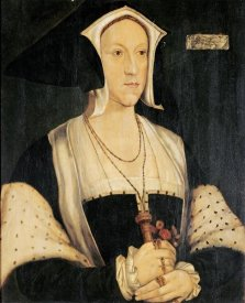 Hans Holbein - Portrait of Margaret Wotton
