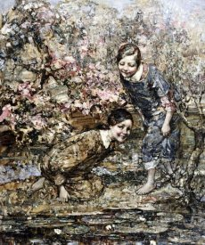 Edward Atkinson Hornel - The Lily Pond