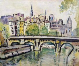 George Leslie Hunter - Le Pont Neuf, Paris