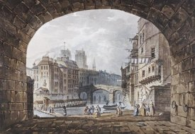 I.Hill - From Under The Arch of St. Michel's Bridge, Paris