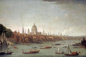 Antonio Joli - A Panoramic View of The City of London
